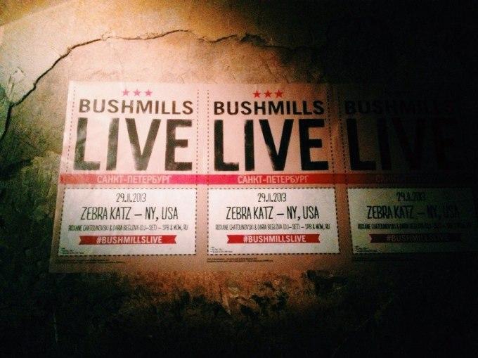 Bushmills Live SaintP Olga AI